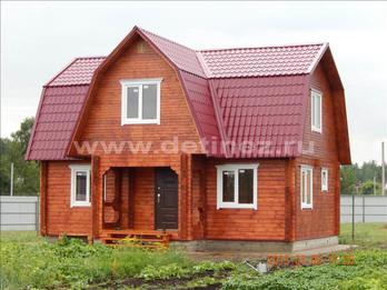 Фото 1224 - дом из бруса  6х9м