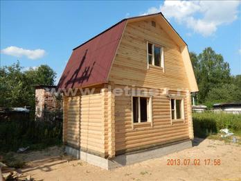 Фото 1226 - дом из бревна  6х4м