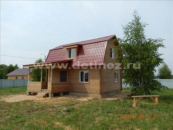 Фото 1227 - дом из бруса 6х9м