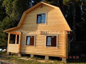 Фото 1230 - дом из бревна 6х6м