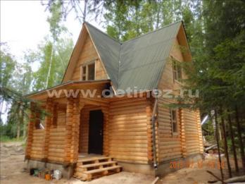 Фото 1244 - дом из бревна 6х4м