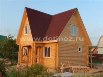 Фото 1245 - дом из бревна 6х8м