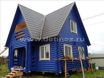 Фото 1251 - дом из бревна 6х9м
