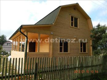 Фото 1253 - дом из бруса 6х8м