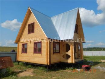 Фото 1254 - дом из бруса 6х8м