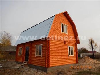 Фото 1300 - дом из бревна