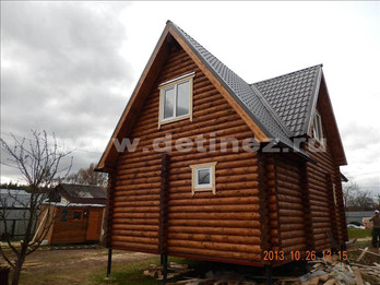 Фото 1302 - дом из бревна