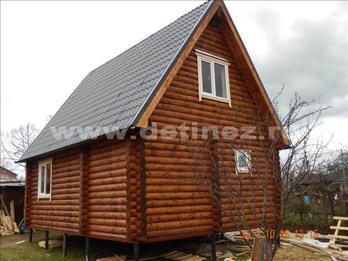 Фото 1303 - дом из бревна