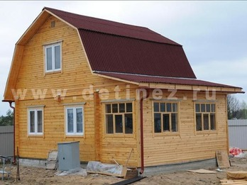 Фото 367 - дом 6х8м из бруса