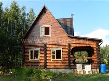 Фото 1205 - дом из бревна 9x9