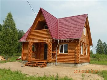 Фото 1208 - дом из бревна 6x9