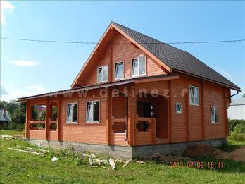 Фото 1210 дом из бруса 8x8