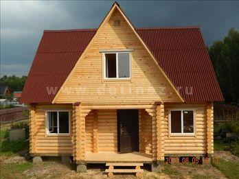 Фото 1217 - дом из бревна 6x9