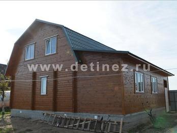 Фото 1025 - дом из бруса