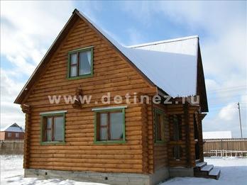 Фото 1048 - дом из бревна