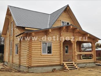 Фото 1053 - дом из бревна