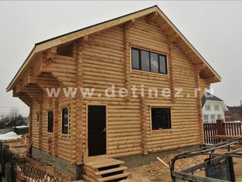 Фото 1060 - дом из бревна