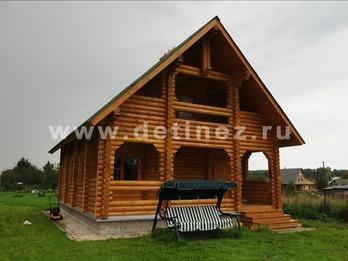 Фото 1070 - дом из бревна