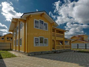 Коттедж №136А 9.5х9м 150 м²