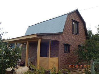 Каркасный дом 2073 6х6м
