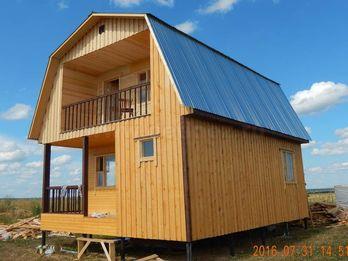Каркасный дом 1547 6х8м