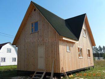 Каркасный дом 1551 6х9м