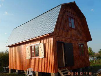 Каркасный дом 1556 6х8м