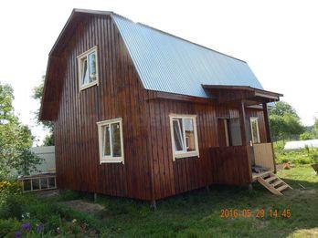 Каркасный дом 4х6