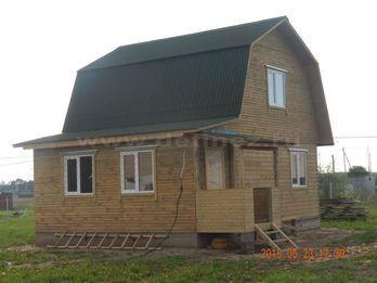 Дом из клееного бруса 1811