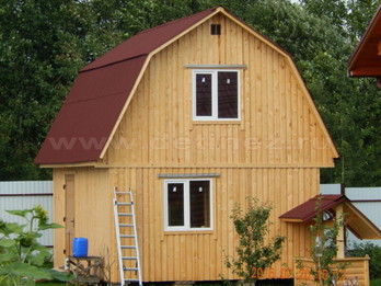 Каркасный дом 2054 4х5м