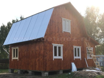 Каркасный дом 2077 6х8м