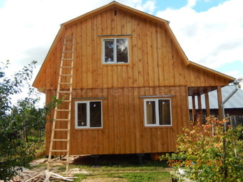Каркасный дом 2078 4х6м