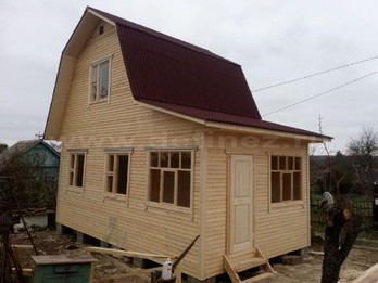Каркасный дом 2089 4х6