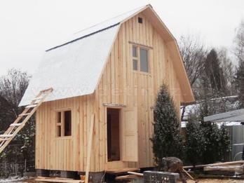 Каркасный дом 2100 4х6м