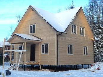 Каркасный дом 2251 9х9м