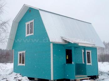 Каркасный дом 5х6м