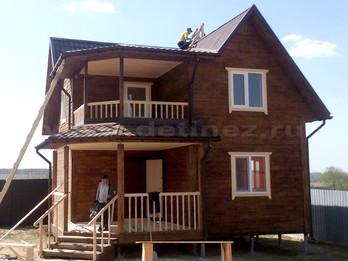 Каркасный дом 2283 8х8м