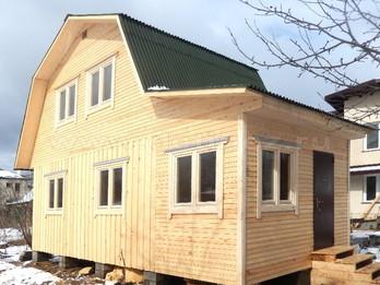 Каркасный дом 2289 4х6м
