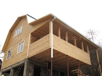 Каркасный дом 2301 6х8м