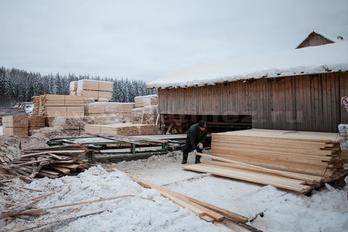 Заготовка древесины - фото 11