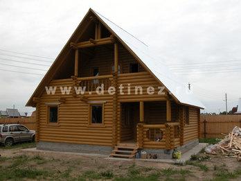 Фото 10 - дом из бревна