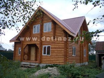 Фото 11 - дом из бревна