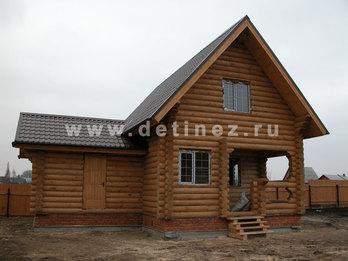 Фото 12 - дом из бревна