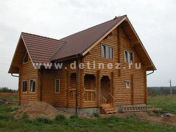 Фото 2 - дом из бревна