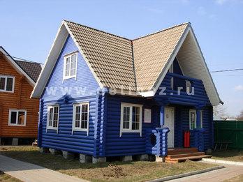 Дом из бревна 6х9м