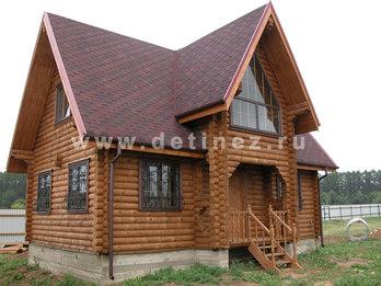 Фото 4 - дом из бревна