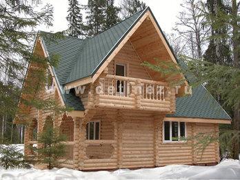 Фото 9 - дом из бревна