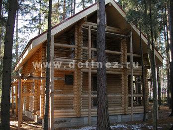 Фото 14 - дом из бревна