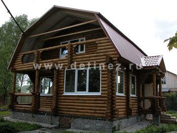 Фото 16 - дом из бревна