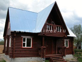 Фото 18 - дом из бревна